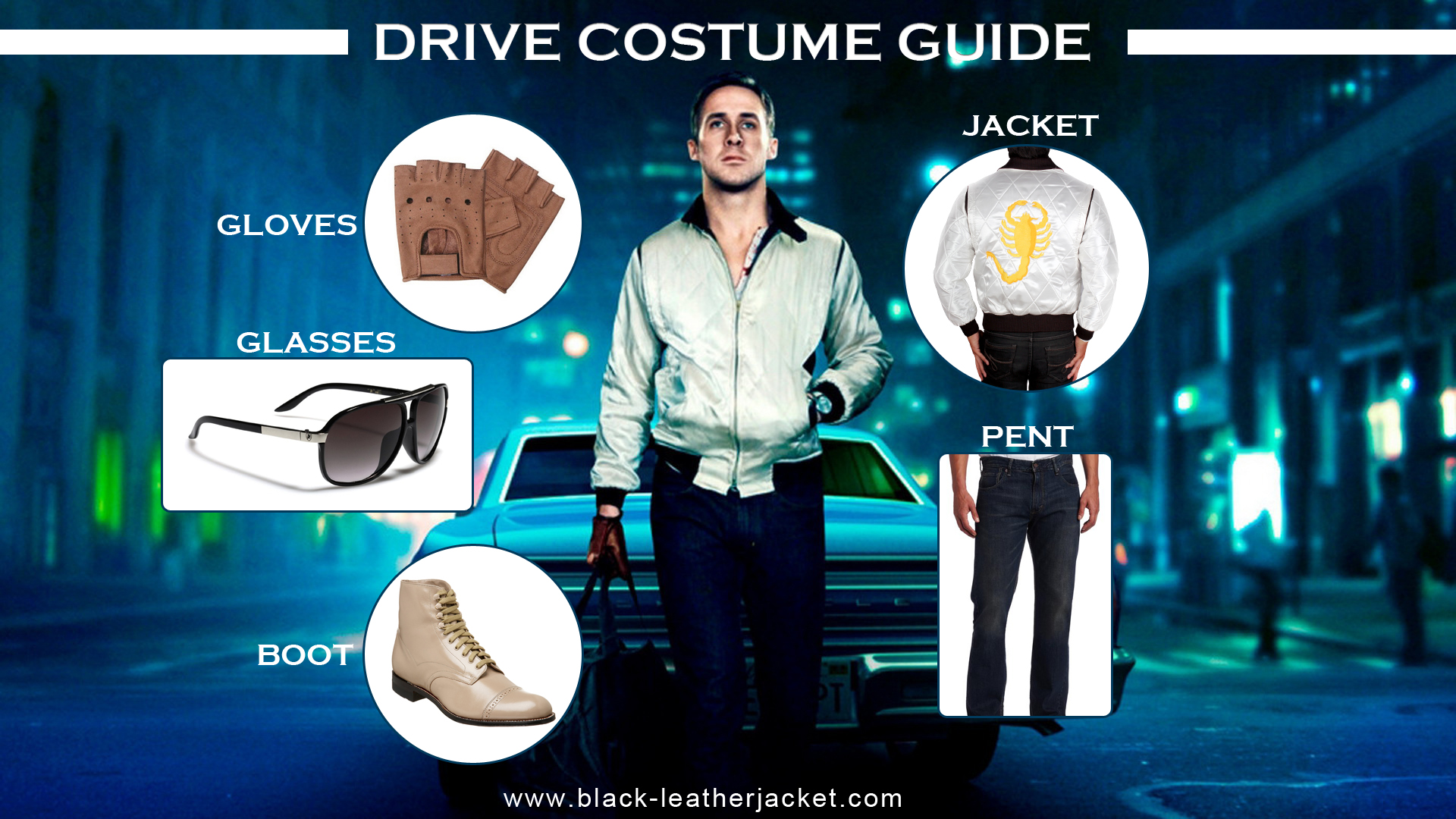 Driving gloves like ryan gosling - You Have The Chance To Avail This Opportunity As We Are Facilitating You With All The Accoutrements And Costume Of Driver At A Single Place
