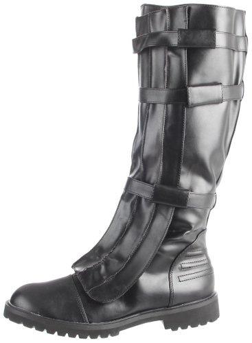 Red hood boot