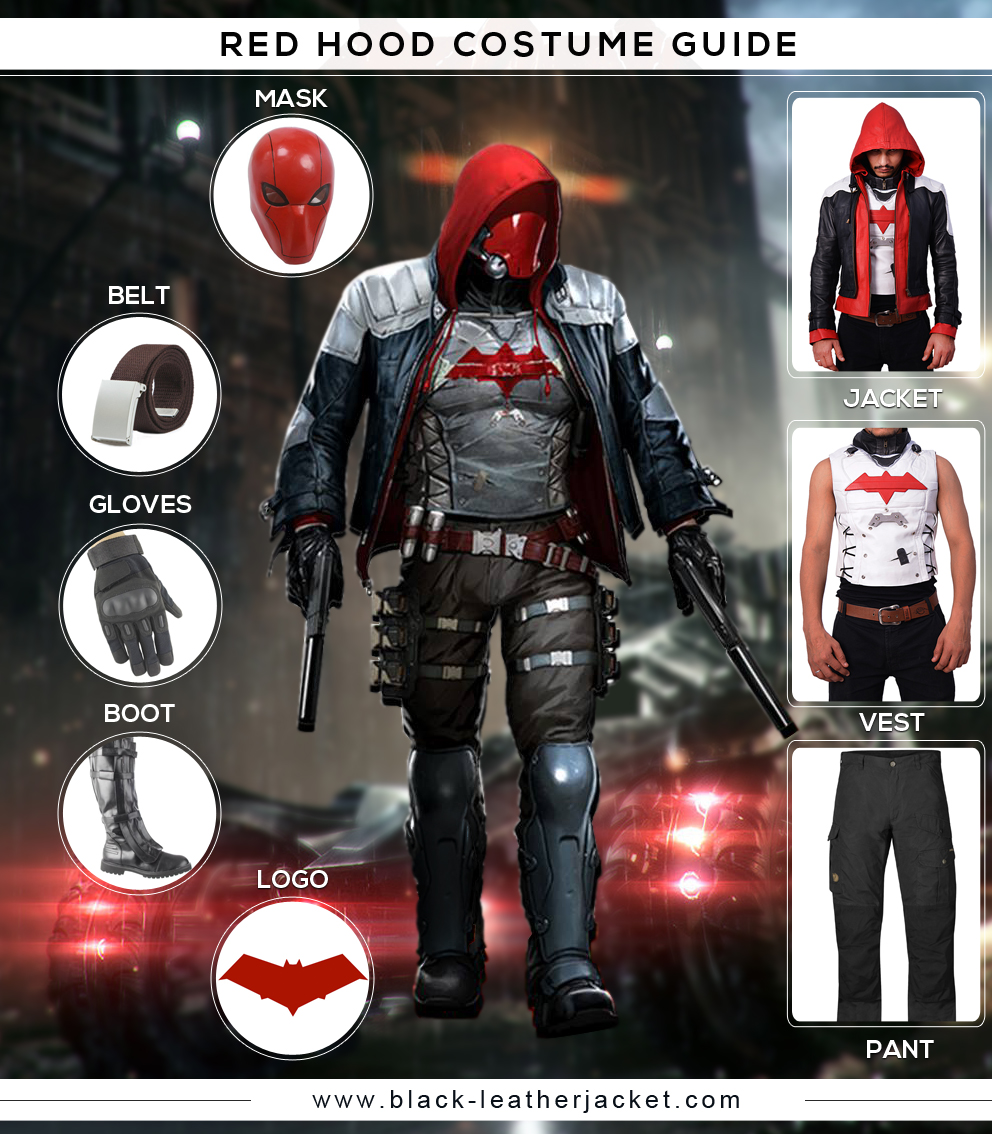 red hood 2 costume guide